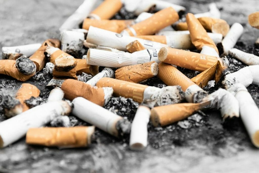 Beta-carotene use & Lung Cancer Risk in Smokers