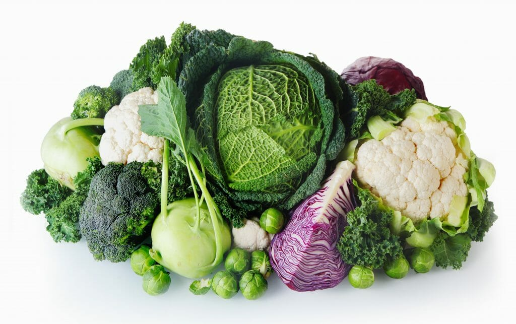 Cruciferous vegetables, Key nutrients and benefits of veggies like broccoli/brussels sprouts consumed in raw or steamed form.