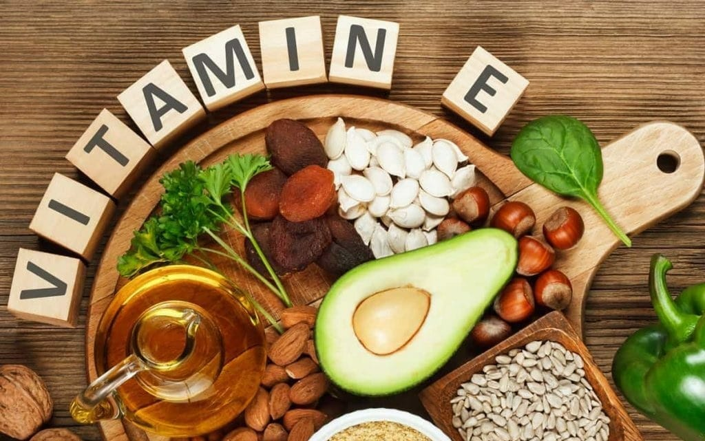 Sources, Benefits and Risks of Vitamin E  used as nutrition/diet in cancer types such as ovarian, lung, brain and prostate cancers .