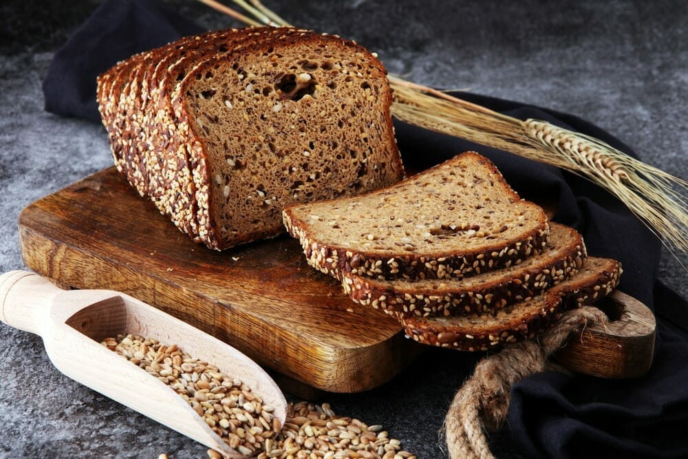 whole grain and cancer risk;  whole grain rich in dietary fibers, B vitamins, minerals, proteins and carbs;  rye or corn tortillas are more healthy compared to refined flour tortillas