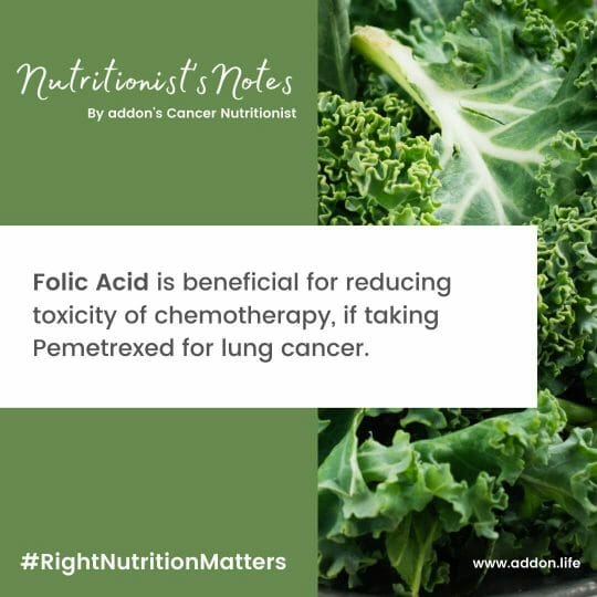 Folic acid for Chemo toxicity, Folic acid with Pemetrexed, Folic Acid and Cancer, Folic acid supplements, Folic Acid benefits in cancer, Folic acid